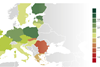 European Union 2012 PISA test performances
