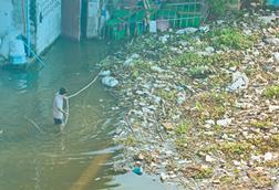 Wastewater garbage pollution bad life 101215387 copy