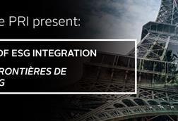 New frontiers of ESG integration / Les nouvelles frontières de l'intégration ESG