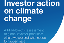 Investor action on climate change: A PRI-Novethic assessment of global investor practices cover