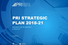 Signatory consultation on the PRI three-year strategy