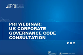 UK corporate governance code consultation