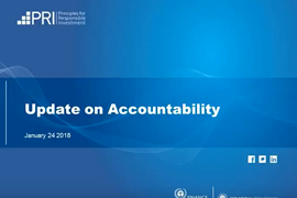 PRI accountability update february 2018