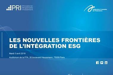 Les nouvelles frontières de l'intégration ESG