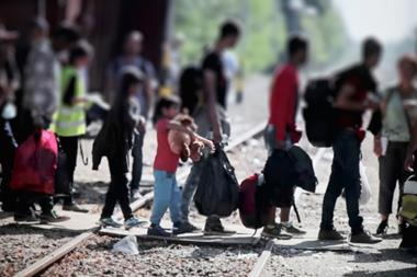 Refugees migrate to Europe