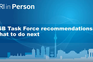 FSB Task Force recommendations