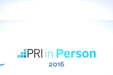 PRI in Person 2016 logo