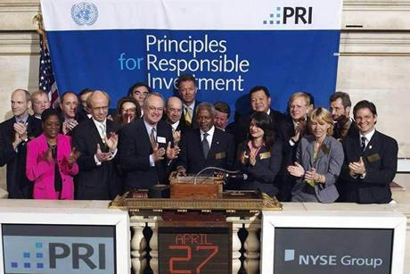 Launch of the PRI at New York Stock Exchange April 2006