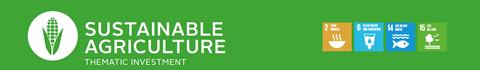 market map sustainable agriculture banner