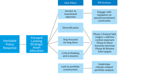 Figure 8: Pillars of Strategic Asset Allocation Processes and IPR Actions