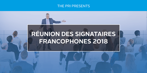 Francophone network conference