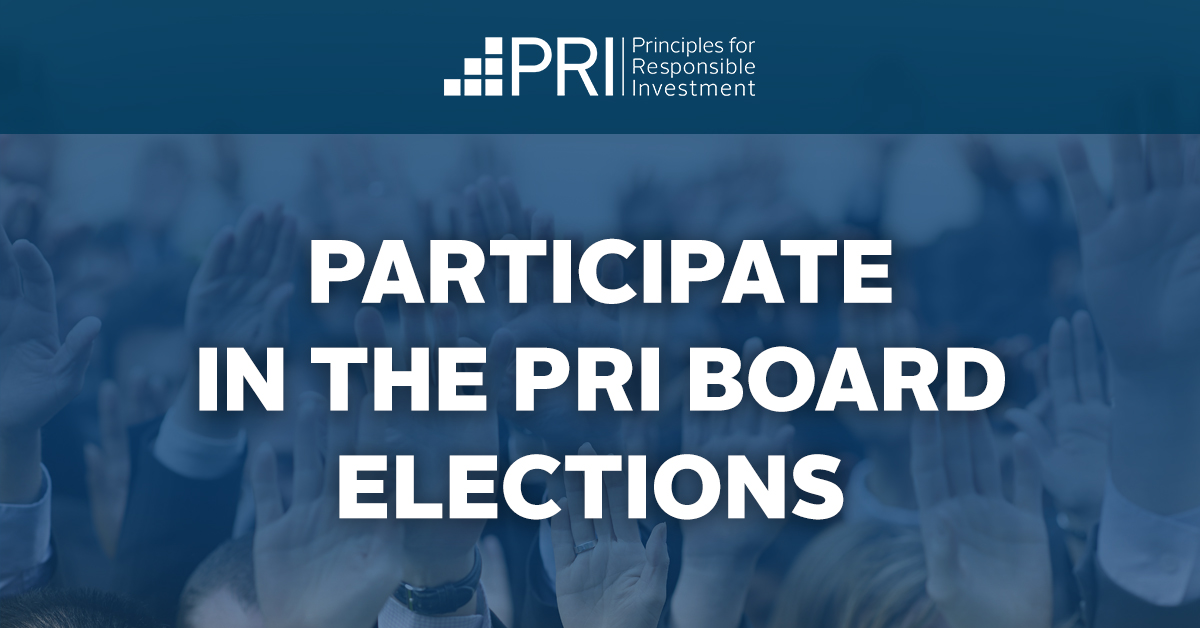 Participate in the PRI board elections
