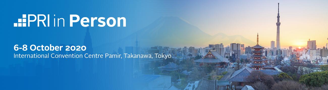 PRI in Person 2020: Tokyo